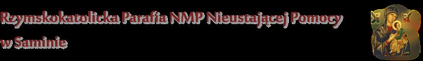 Logo for Rzymskokatolicka Parafia NMP Nieustającej Pomocy w Saminie